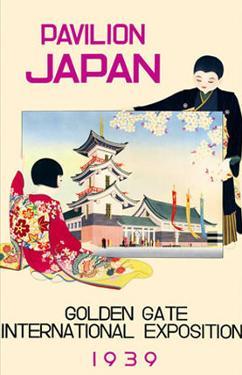 Pavilion Japan- Golden Gate International Exposition 1939