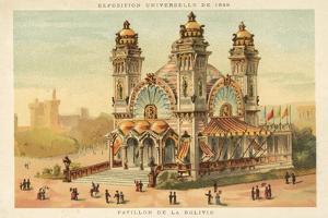 Pavilion of Bolivia, Exposition Universelle 1889, Paris