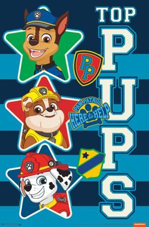PAW PATROL - TOP PUPS