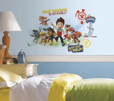 Paw Patrol Wall Graphix Peel and Stick Giant Wall Decals