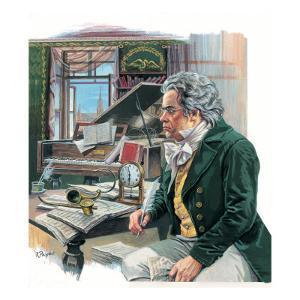 Ludwig Van Beethoven by Payne