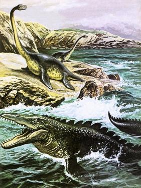 Plesiosaurus by Payne