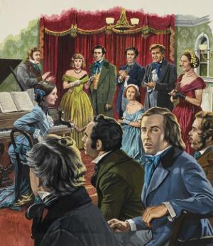Robert Schumann by Payne