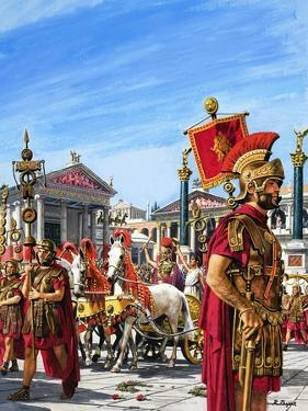 Roman Legionnaires by Payne