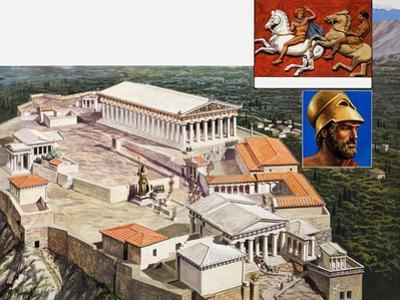 The Acropolis and Parthenon, 1981