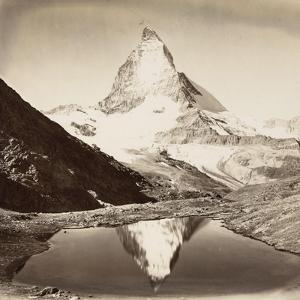 Paysage de montagne, le Mont Cervin