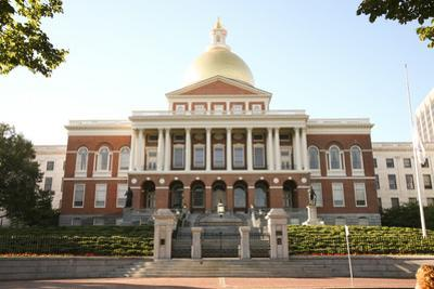 Boston State Capital with its Golden Dome by pdb1