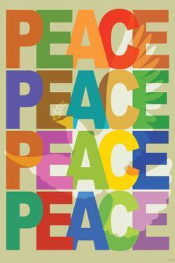 Peace (Dove) Art Poster Print