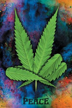 Peace Pot Leaf