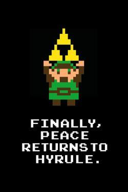 Peace Returns to Hyrule Video Game