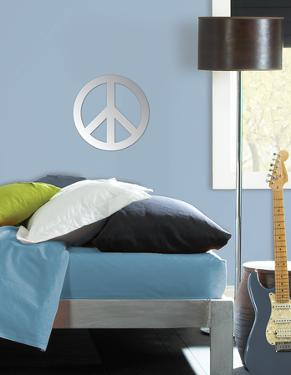 Peace Wall Mirror Decal Sticker