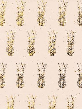Gold Pineapples by Peach & Gold
