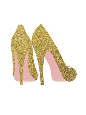Gold Shoes by Peach & Gold