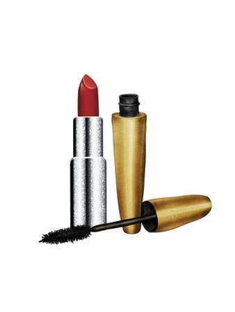 Lipstick & Mascara by Peach & Gold