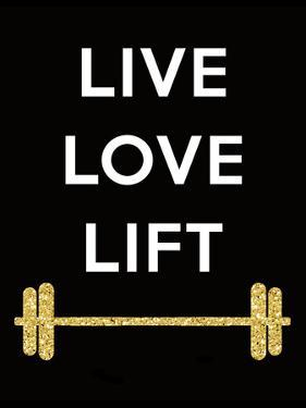 Live Love Lift by Peach & Gold