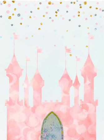 Pink Castle by Peach & Gold