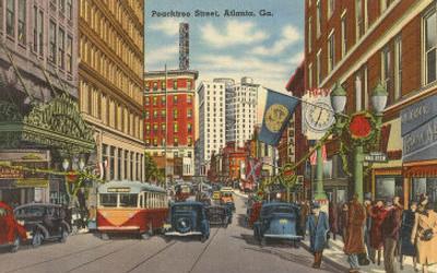 Peachtree Street, Atlanta, Georgia