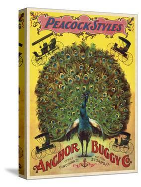 Peacock Styles Anchor Buggy Co. ca. 1897