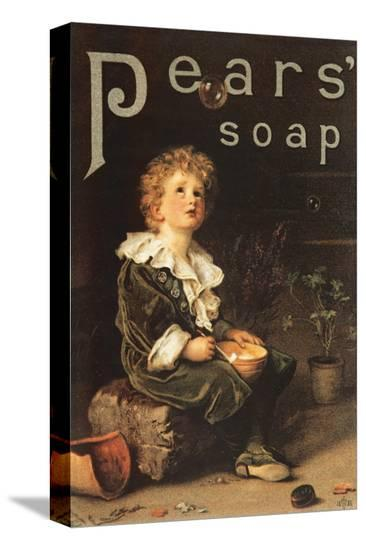 Pear's Soap, 1886--Stretched Canvas Print