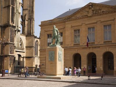 Bronze Statue of Abraham De Fabert D'Esternay by Pearl Bucknall