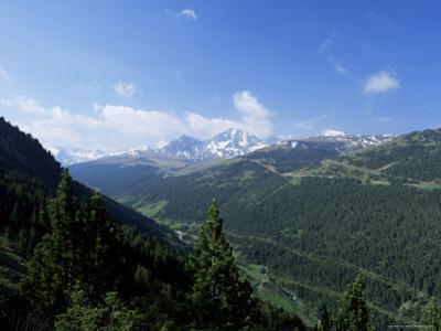 El Cubil and Obac d'Envalira, from Across Vall De Soldeu, Soldeu, Andorra