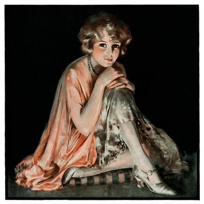 """Pensive Woman,""February 9, 1924"