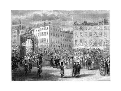 Entry of King George IV into Dublin, 1820S