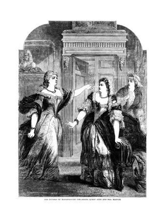 The Duchess of Marlborough Upbraiding Queen Anne (1665-171) and Mrs Masham
