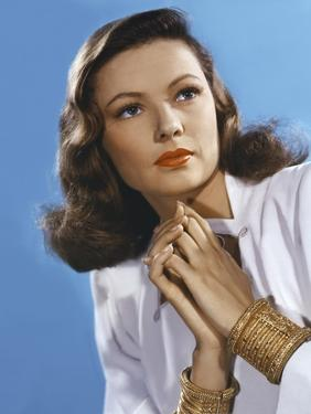 Peche Mortel LEAVE HER TO HEAVEN by John Stahl with Gene Tierney, 1945 (photo)