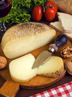 Pecorino, a Sheep Cheese, Italy, Europe