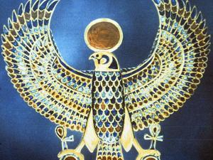 Pectoral Showing the God Horus, Ancient Egyptian, 18th Dynasty, C1325 Bc