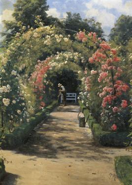 In the Garden by Peder Mork Monsted