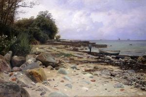 Looking Out to Sea, 1919 by Peder Mork Monsted