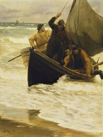 Fisherman Returning Home, Skagen, 1885