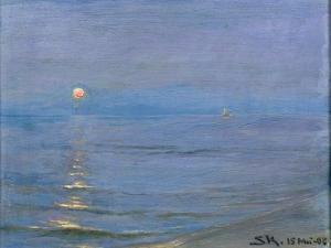 Summer Evening, Skagen, 1908 by Peder Severin Kröyer