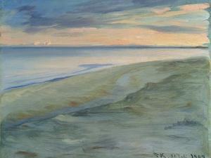 The Beach, Skagen, 1902 by Peder Severin Kröyer