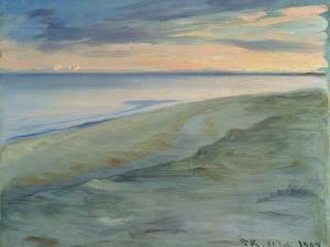 The Beach, Skagen, 1902 by Peder Severin Kröyer