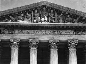 Pediment of the Supreme Court