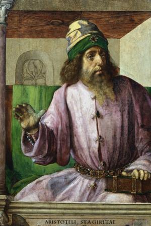 Aristotle, Ancient Greek Philosopher and Scientist, C1470-C1504 by Pedro Berruguete