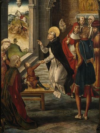Saint Dominic Resurrects a Boy, 1493-1499 by Pedro Berruguete