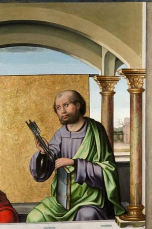 Saint Peter, C.1495 by Pedro Berruguete