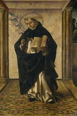 Saint Peter Martyr, 1493-1499 by Pedro Berruguete