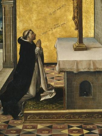 Saint Peter Martyr at Prayer, 1493-1499 by Pedro Berruguete
