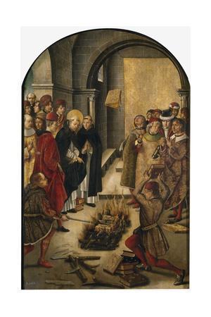 St. Dominic de Guzman and the Albigensians, 1493-99