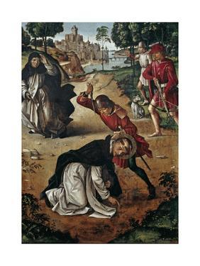 The Death of Saint Peter of Verona, 1493-1499 by Pedro Berruguete