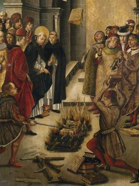 The Disputation Between Saint Dominic and the Albigensians, 1493-1499 by Pedro Berruguete
