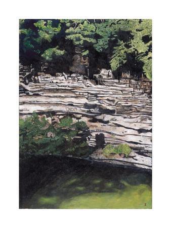 Cenote at Chichen-Itza (Diptych) I, 2003