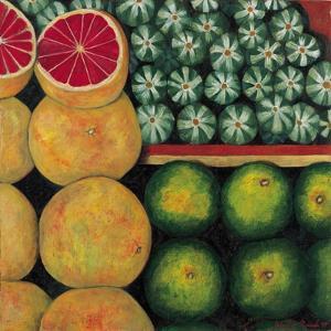Halved Grapefruit, 1999 by Pedro Diego Alvarado
