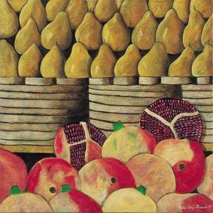 Pears and Pomegranates, 1999 by Pedro Diego Alvarado