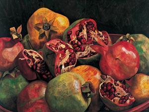 Pomegranates from Chabela, 2007 by Pedro Diego Alvarado
